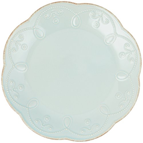 Lenox French Perle Accent Plate, Ice Blue Ice Plate