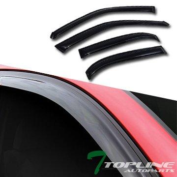 Topline Autopart Window Deflector Corolla