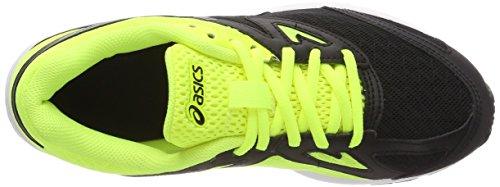 safety silver – Gs Bambini Asics Amplica black 9093 Scarpe Nero Yellow Running Unisex vzZZX