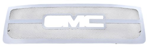 UPC 609579006750, T-Rex Grilles 54207 Upper Class Polished Stainless Mesh Grille with Logo Opening