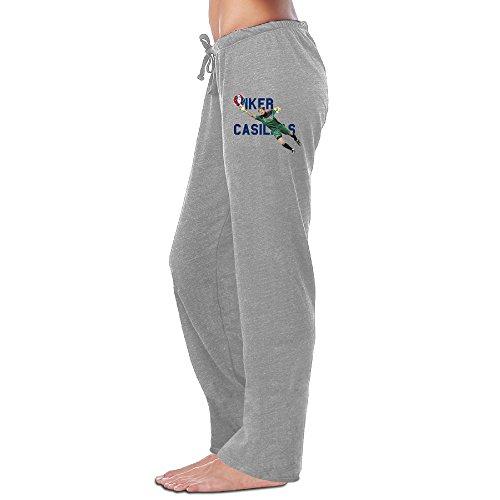 Duola Women's Training Pants Best Goalkeeper #1 Ash Size XL