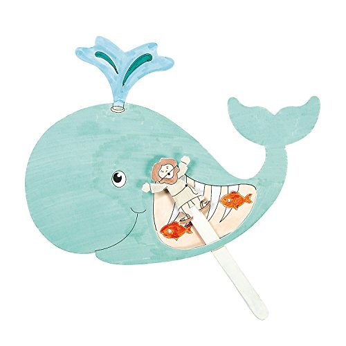 Whale Craft - Fun Express Jonah and The Whale