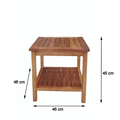 """Tavolo tavolino in legno """"Athene"""" - arredo esterno ..."""