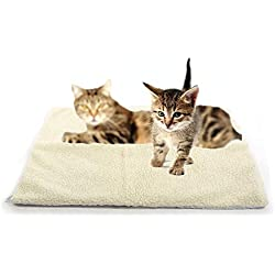 Ugood Self Heating Dog Cat Pet Bed Thermal Washable No Electric Blanket Required 2018 Dress (Size 822)