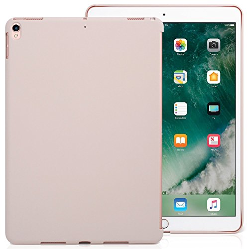 Pink Personal Electronic Cases (iPad Pro 10.5 Inch Pink Color Case - Companion Cover - Perfect match for Apple Smart keyboard and Cover)