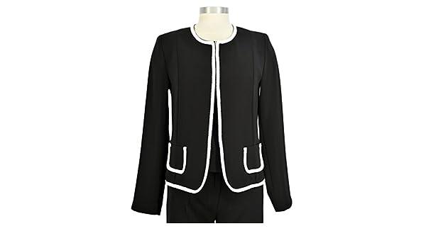 Chanel ven chaqueta corta negro: Amazon.es: Ropa y accesorios