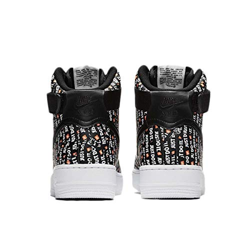 Hi Air Unisexes noir Orange Noir Sport 001 Force Nike 1 Noires Wmns Chaussures Blanc Adultes Lx De Total Izw4qwx51