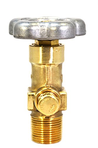 Sherwood Global Oxygen Cylinder Valve | CGA 540 Outlet | 3775 PSI CG-1 PRD | GV O-Ring Style Valves | Forged Brass Body | for Medical and Industrial Applications | Long Serving Life
