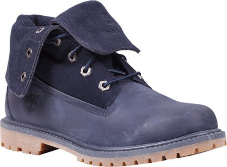 Timberland - Botas de cuero para mujer azul azul