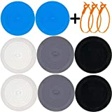 Drain Plug, (11 Pack) Stay in Place and Hold Water in Sink Permanently, Universal Size Widely Applicable for Most Bathtub, Shower or Kitchen Sinks (6 inches)