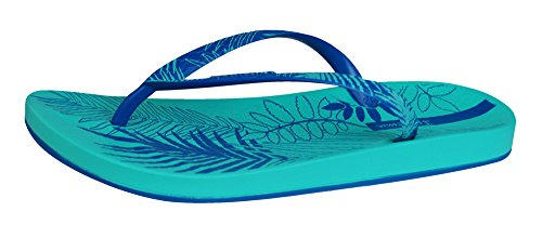 Foliage Vert Sandales Bleu Ipanema tongs Femmes dxwncqZqC8