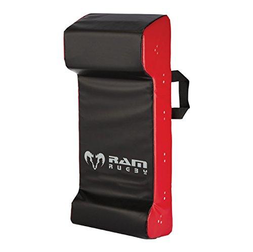 Rugby Hit - doble escudo Ram contacto Wedge - Senior - almohadilla 2,5 kg - negro/rojo 2327