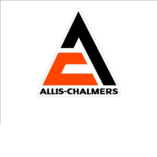 - Signs By Woody#19a Small Allis-Chalmers Window Decal