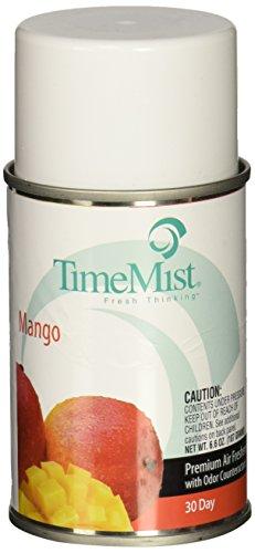 TimeMist Metered Fragrance Dispenser Refill, Mango 6.6 Ounce Aerosol Can (332960TMCA)
