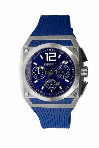 Breil Gear TW0693 Stainless Steel Case Rubber Mineral Men's Quartz Watch