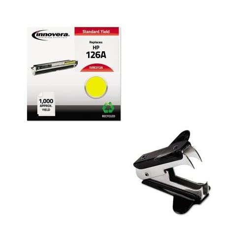KITIVRE312AUNV00700 - Value Kit - Innovera E312A Compatible (IVRE312A) and Universal Jaw Style Staple Remover (UNV00700)