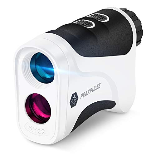 PEAKPULSE 6S Golf Rangefinder, Golf Rangefinder with PinSeeker JOLT Technology and Fast Focus...