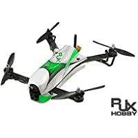 RJX CAOS speed quadcopter with green canopy ( kit only )