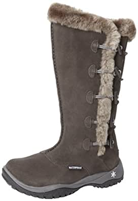 Amazon.com | Baffin Women's Loki Snow Boot, Grey/Charcoal