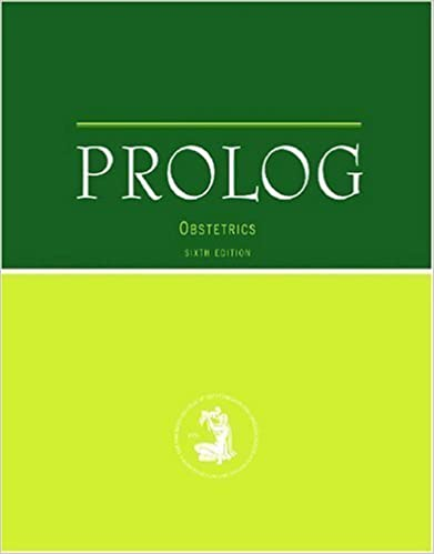 Prolog: Obstetrics 6th (sixth) Edition published by Amer College of Obstetricians & (2010)