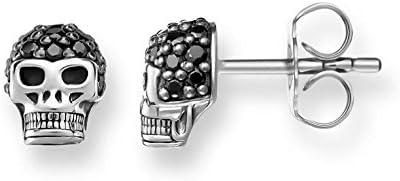 Thomas Sabo Pendientes de botón Mujer plata - H1772-051-11