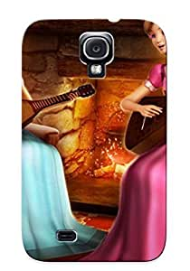 Crazylove Durable Defender Case For Galaxy S4 Tpu Cover(barbie Diamond Castle Famou Cartoon) Best Gift Choice