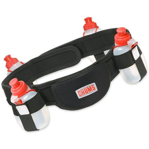 Chums QuadFuel Hydration Belt, Medium, Outdoor Stuffs