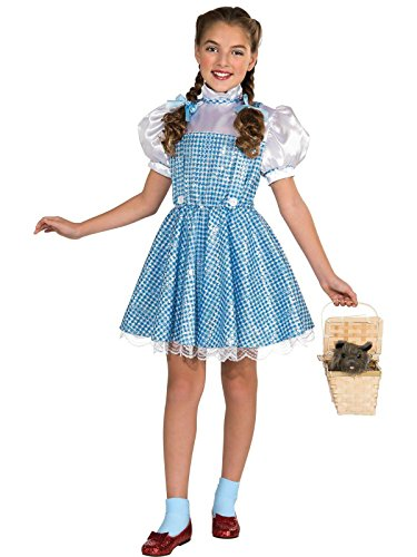 Wizard of Oz Dorothy Sequin Costume, Toddler 1-2 (75th Anniversary Edition)]()
