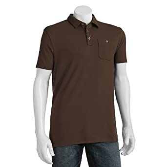 Apt. 9 Solid Modern-Fit Polo - Men at Amazon Men\'s Clothing store:
