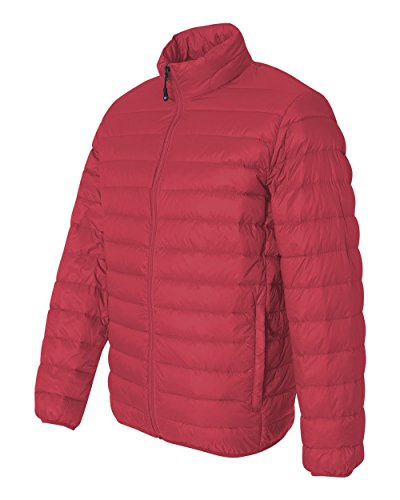 Packable Red 15600 Adult Weatherproof Nylon Jacket Unisex Down Adult rppEZ