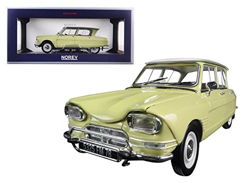 1964-citroen-ami-6-naples-yellow-1-18-model-car-by-norev