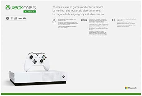 Xbox One S 1TB All-Digital Edition Console (Disc-Free Gaming) 8
