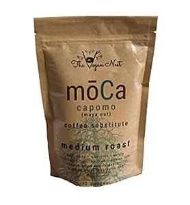 Capomo (Maya Nut/Maya Seed) moCa tastes LIKE coffee. NON GMO, NON Acidic, No Pesticides or Caffeine. Gluten, Allergy, Nut & Soy Free. Certified. Nutritious! Coffee Substitute ( 12 ounces) [Vergronix]