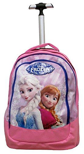 11 opinioni per Frozen- Magia Del Ghiaccio Trolley Scuola Bambina, Spallacci a Scomparsa, 30