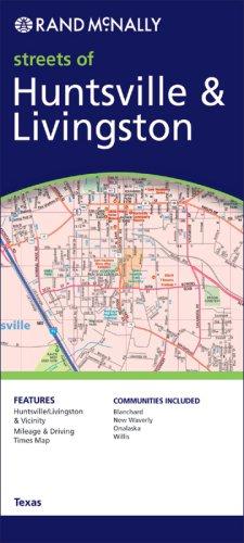 Rand Mcnally Huntsville & Livingston, Texas (Rand McNally