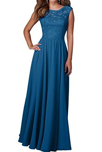 Damen Lilac Dunkel Chiffon Festliche Charmant Ballkleider Abendkleider Blau Langes Etuikleider Brautjungfernkleider Kleider Odxvqw7