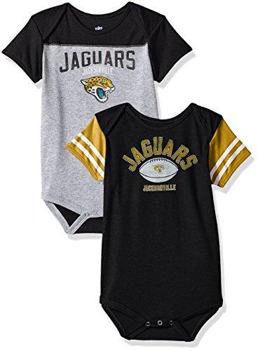 - Outerstuff NFL Infant Vintage Baby 2 Piece Onesie Set-Heather Grey-24 Months, Jacksonville Jaguars