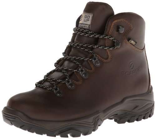 Scarpa Men's Terra GTX Hiking Boot,Brown,44 EU/10.5 M (Italian Handmade Brown Leather Boots)