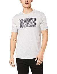 A|X Armani Exchange Playera con Cuello Redondo para Hombre