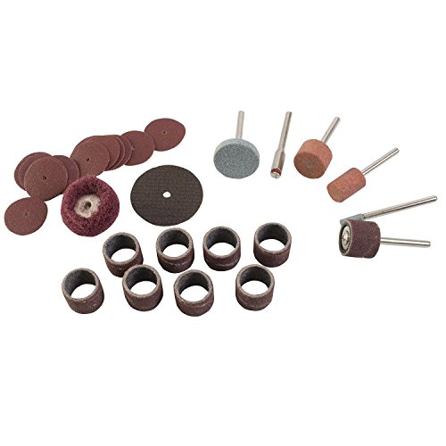 Great Neck 80135 31 Piece Rotary Tool Accessory Kit