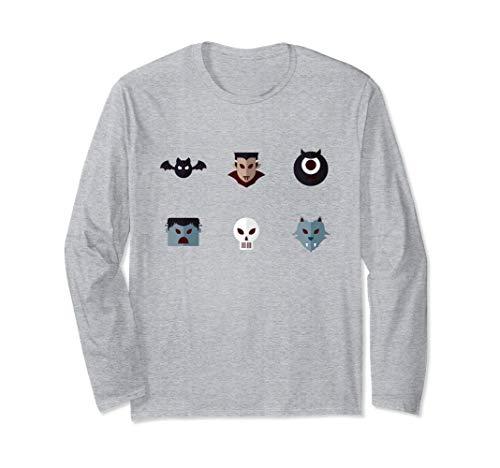 Funny Halloween Costume Avatars Longsleeve Shirt -