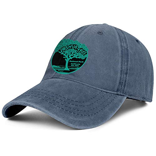 Unisex Men Adjustable Joshua Tree National Park Baseball Cap Simple Truck Driver Hats