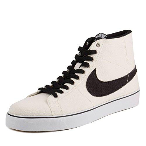 Nike Mens Zoom Blazer SB Canvas Sail/Black/White-Gum Canvas Size 8.5