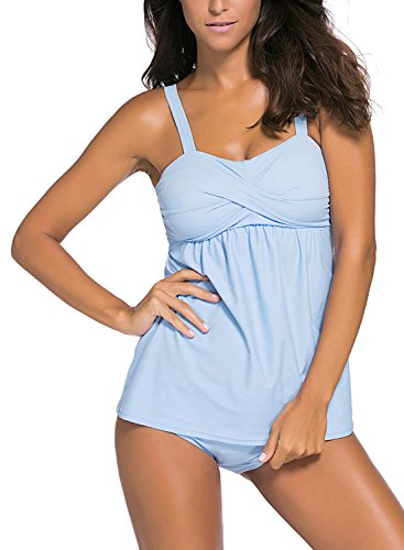 HOTAPEI Summer Swimwear Tankini Bottoms