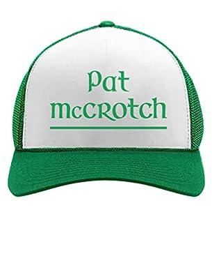 Tstars - Pat McCROTCH St Patrick's Day Funny Trucker Hat Mesh Cap