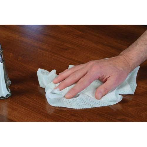 Atlantic Mills Corp Premium Rayon Poly Food Service Wipe    150 Per Case