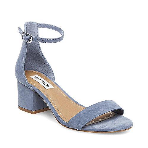 Light Blue Block (Steve Madden Women's Irenee Dress Sandal, Light Blue, 6 M US)