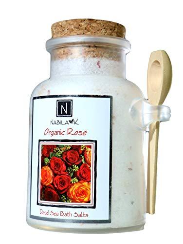 Organic Rose Bath Salt, 10.5oz