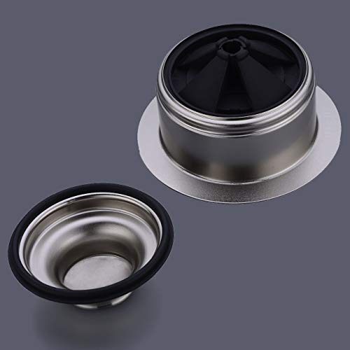 BESTILL Brass Kitchen Sink Flange Kit for 3-Bolt Mounted Garbage Disposal,Brushed Nickel by BESTILL (Image #5)