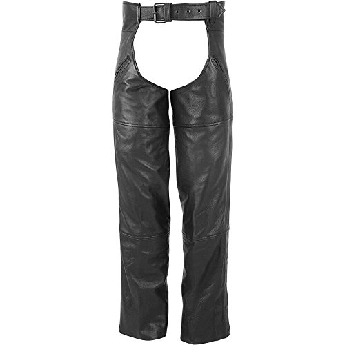 Wilsons Leather Mens Performance Leather Cycle Chaps M Black